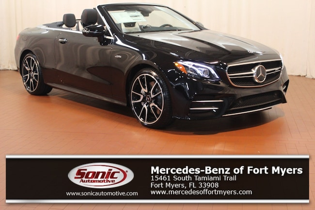 New 2019 Mercedes-Benz AMG E 53 4MATIC Cabriolet for sale in Fort Myers, FL