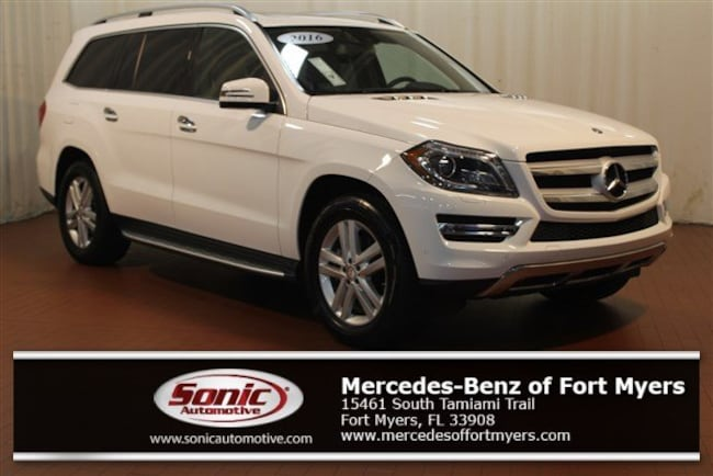Certified Pre-Owned 2016 Mercedes-Benz GL-Class GL 450 4matic 4dr SUV for sale in Fort Myers, FL