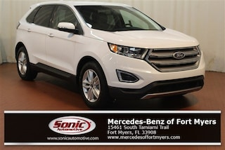Used 2017 Ford Edge SEL  FWD SUV for sale in Fort Myers, FL