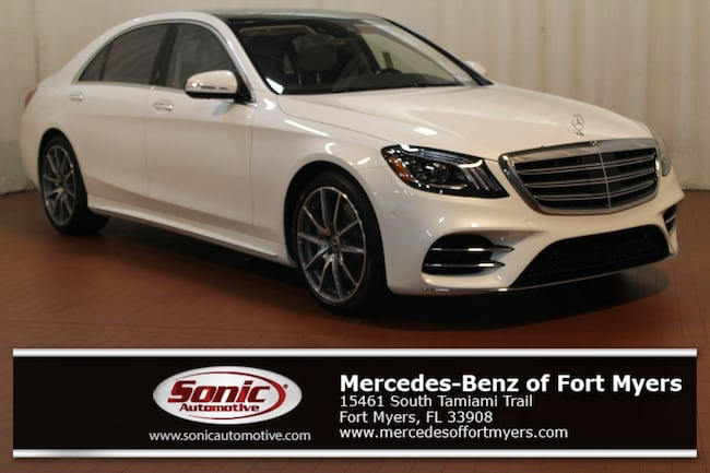 New 2019 Mercedes-Benz S-Class S 560 Sedan for sale in Fort Myers, FL