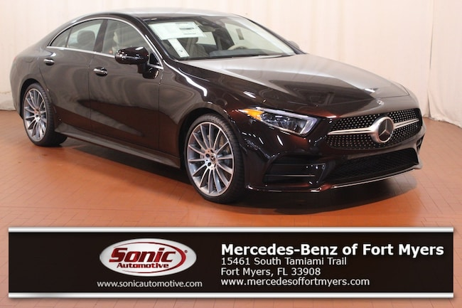 New 2019 Mercedes-Benz CLS 450 Coupe for sale in Fort Myers, FL
