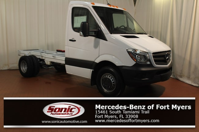 New 2017 Mercedes-Benz Sprinter 3500XD Chassis Standard Roof V6 Truck for sale in Fort Myers, FL