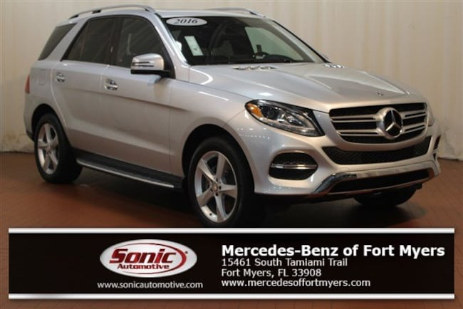 Certified Pre-Owned 2016 Mercedes-Benz GLE GLE 300d 4matic 4dr SUV for sale in Fort Myers, FL