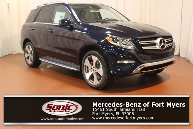 New 2019 Mercedes-Benz GLE 400 4MATIC SUV for sale in Fort Myers, FL