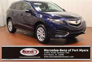Used 2017 Acura RDX w/Technology Pkg AWD SUV in Fort Myers