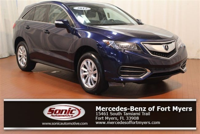 Acura Fort Myers >> Used 2017 Acura Rdx For Sale In Fort Myers Fl Stock Thl037122