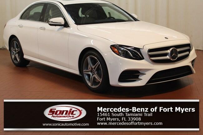 New 2019 Mercedes-Benz E-Class E 300 Sedan for sale in Fort Myers, FL