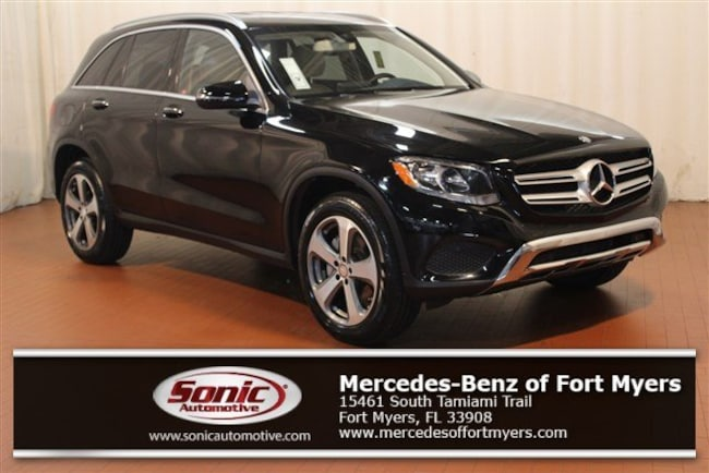 Certified Pre-Owned 2016 Mercedes-Benz GLC 300 GLC 300 RWD 4dr SUV for sale in Fort Myers, FL
