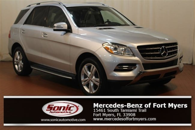 Used 2015 Mercedes-Benz M-Class ML 350 RWD 4dr SUV for sale in Fort Myers, FL