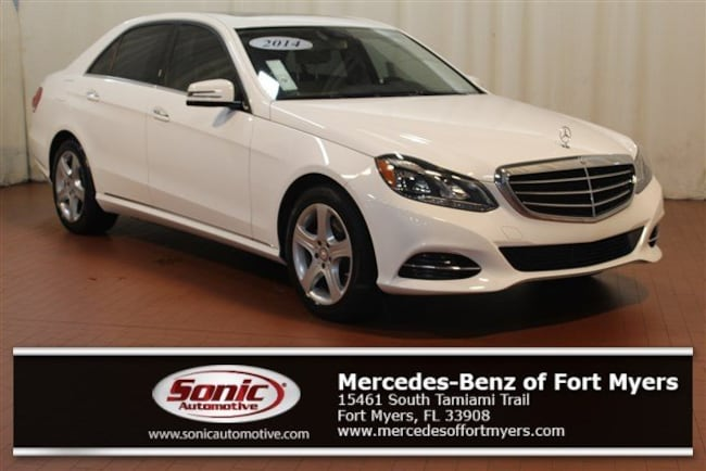Used 2014 Mercedes-Benz E-Class E 350 Luxury 4dr Sdn  RWD Sedan for sale in Fort Myers, FL