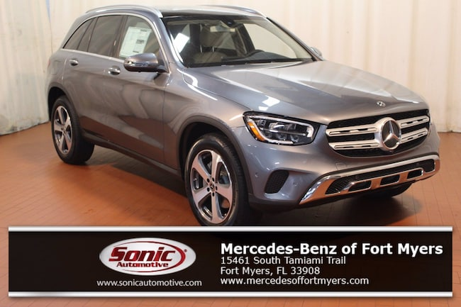 New 2020 Mercedes-Benz GLC 300 4MATIC SUV for sale in Fort Myers, FL