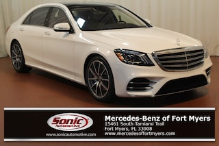 New 2019 Mercedes-Benz S-Class S 560 Sedan Designo Diamond White for sale Fort Myers, FL