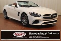New 2019 Mercedes-Benz SL 450 SL 450 Roadster Designo Diamond White Metallic for sale in Fort Myers