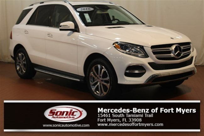Certified Pre-Owned 2016 Mercedes-Benz GLE GLE 350 RWD 4dr SUV for sale in Fort Myers, FL