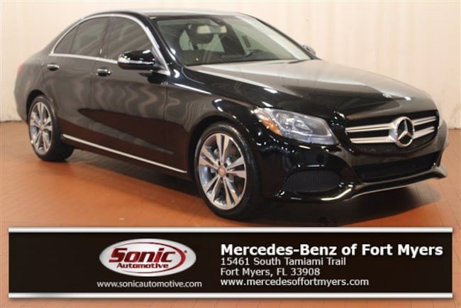 Certified Pre-Owned 2015 Mercedes-Benz C-Class C 300 4dr Sdn  RWD Sedan for sale in Fort Myers, FL
