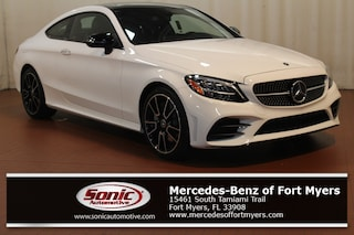 New 2019 Mercedes-Benz C-Class C 300 Coupe for sale Fort Myers, FL