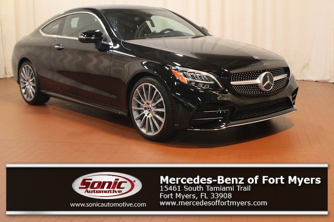 New 2019 Mercedes-Benz C-Class C 300 Coupe for sale in Fort Myers, FL