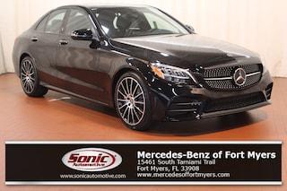 New 2019 Mercedes-Benz C-Class C 300 Sedan for sale Fort Myers, FL