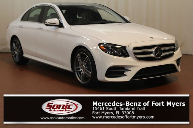 New 2019 Mercedes-Benz E-Class E 300 Sedan for sale in Fort Myers, FL