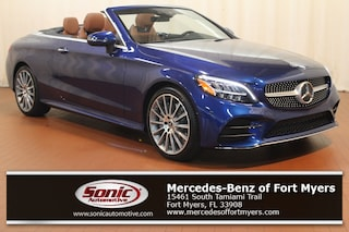 New 2019 Mercedes-Benz C-Class C 300 Cabriolet for sale Fort Myers, FL