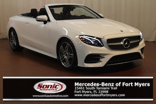 New 2018 Mercedes-Benz E-Class E 400 Cabriolet for sale Fort Myers, FL