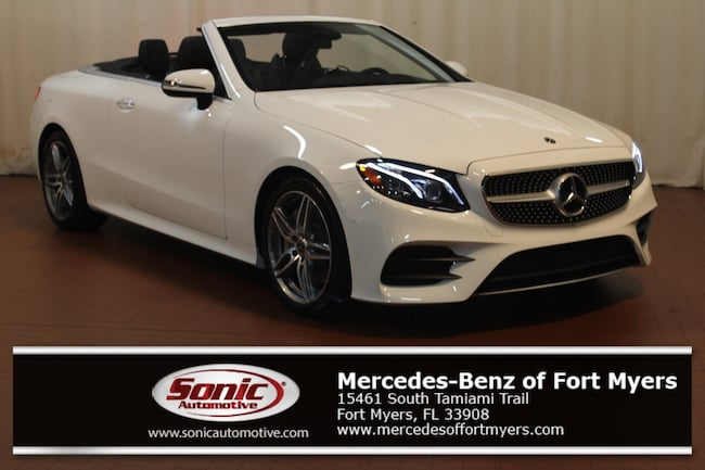 New 2018 Mercedes-Benz E-Class E 400 Cabriolet for sale in Fort Myers, FL