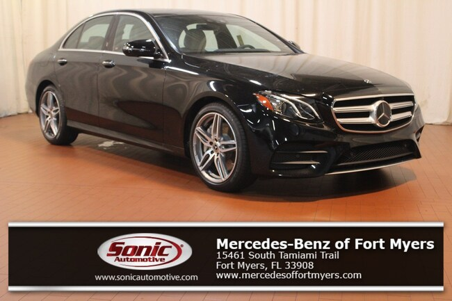 New 2019 Mercedes-Benz E-Class E 300 for sale in Fort Myers, FL