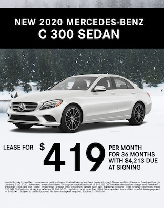 C 300 Lease Special Mercedes Benz