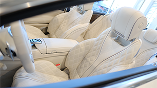 Maybach Front Seats