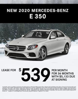 E-Class E350 Mercedes Benz