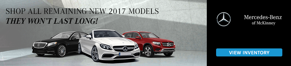 New Mercedes Benz Inventory
