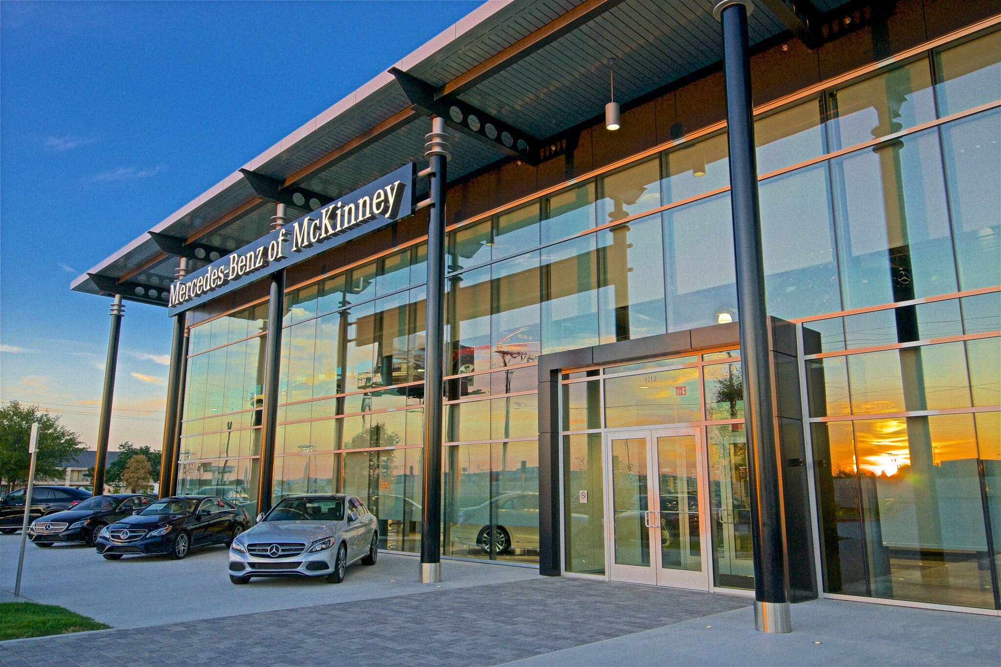 Mercedes-Benz of McKinney exterior