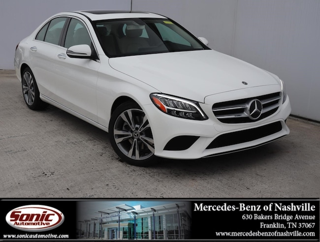 New 2019 Mercedes-Benz C-Class C 300 Sedan for sale in Franklin, TN