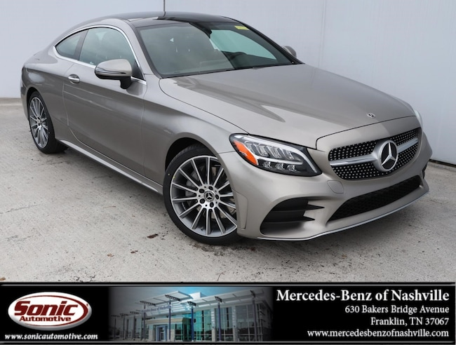 New 2019 Mercedes-Benz C-Class C 300 Coupe for sale in Franklin, TN