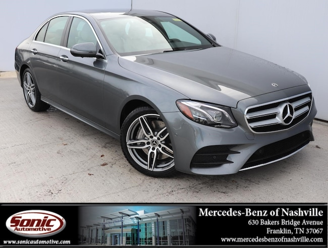 New 2019 Mercedes-Benz E-Class E 300 Sedan for sale in Franklin, TN