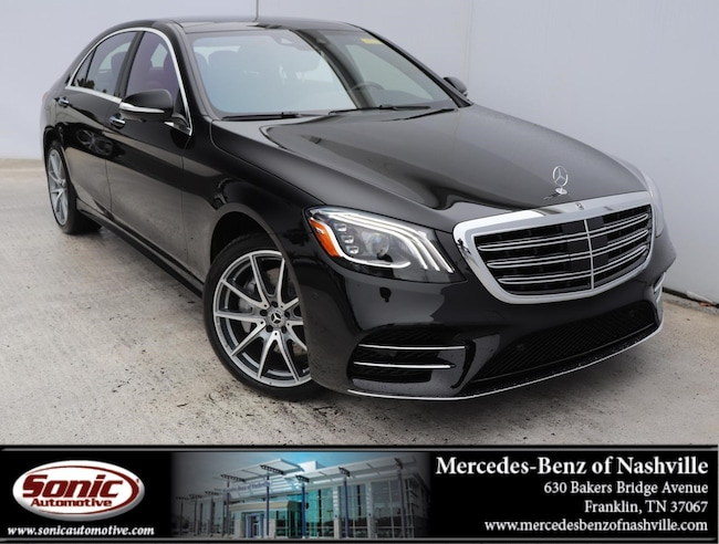 New 2019 Mercedes-Benz S-Class S 560 Sedan for sale in Franklin, TN