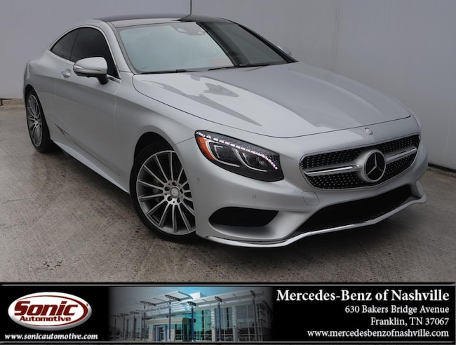Certified Pre-Owned 2016 Mercedes-Benz S-Class S 550 2dr Cpe  4matic Coupe for sale near Nashville, TN