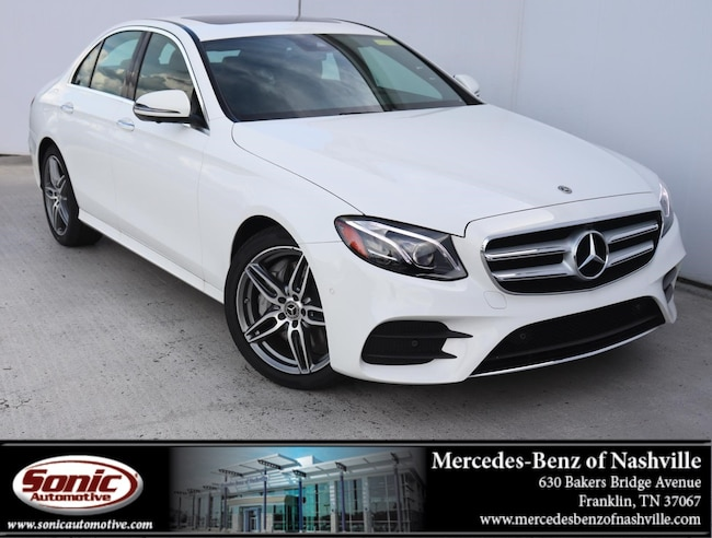 Mercedes Benz Nashville >> New 2019 Mercedes Benz E Class For Sale Near Nashville Tn Vin