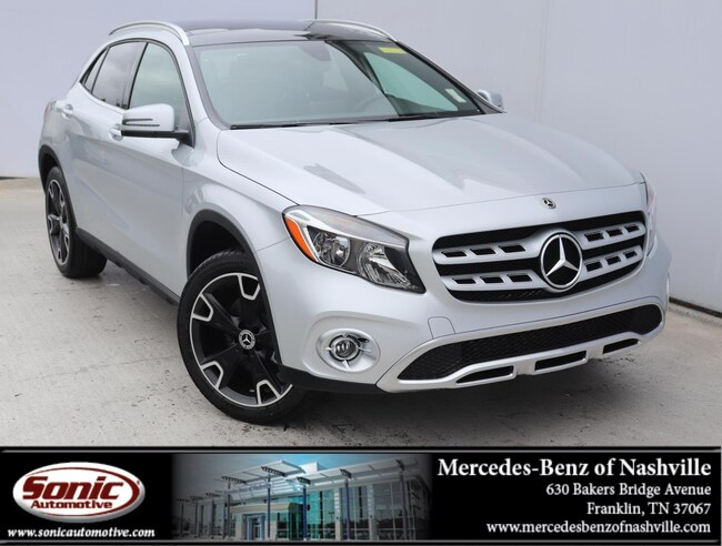 New 2019 Mercedes-Benz GLA 250 4MATIC SUV for sale in Franklin, TN