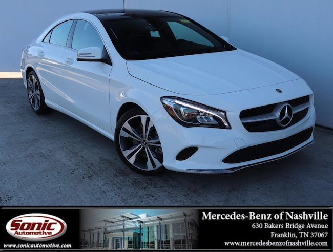 New 2019 Mercedes-Benz CLA 250 4MATIC Coupe for sale in Franklin, TN