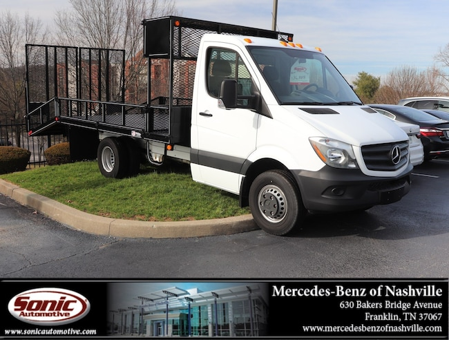 New 2017 Mercedes-Benz Sprinter 3500XD Chassis Will-RO Bed - Dovetail Truck for sale in Franklin, TN