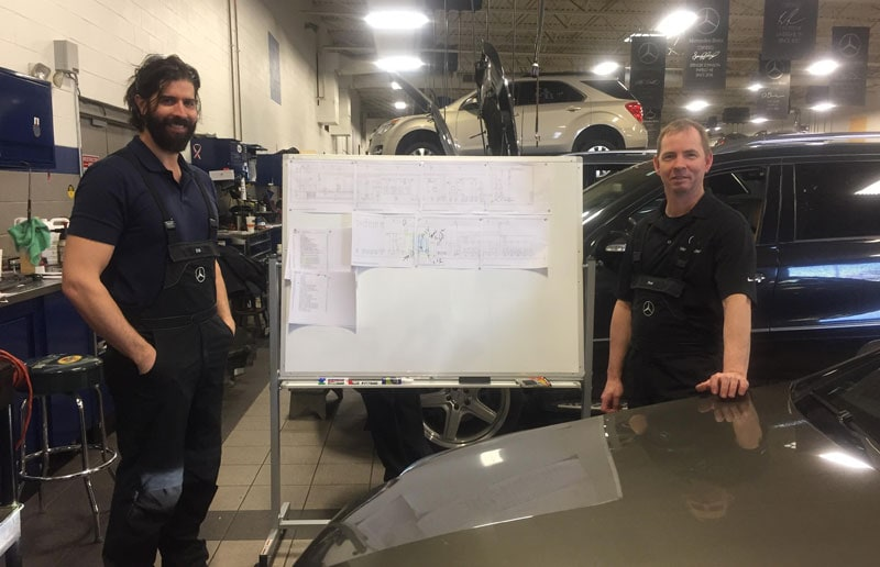 Mercedes-Benz of Nashville Certified CDT Technicians