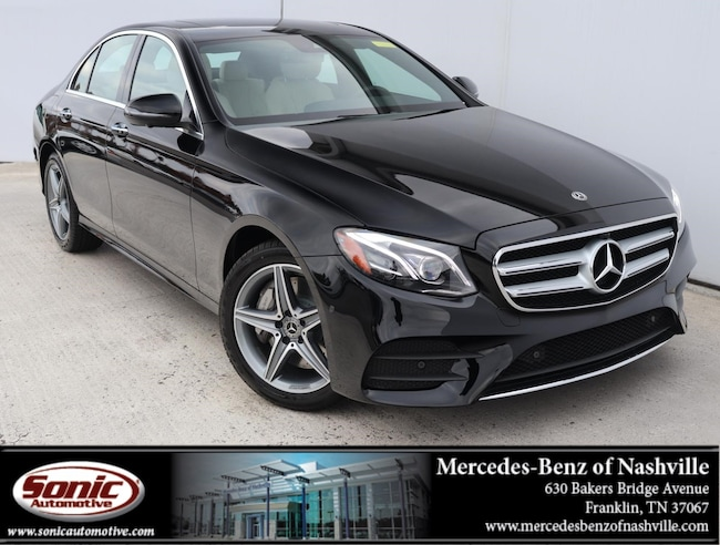New 2019 Mercedes-Benz E-Class E 300 4MATIC Sedan for sale in Franklin, TN
