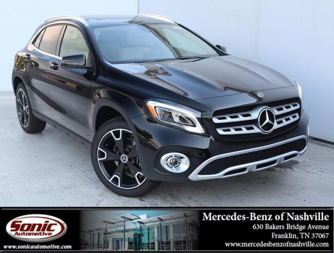 New 2019 Mercedes-Benz GLA 250 4MATIC SUV for sale in Franklin, TN