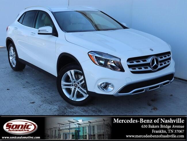Used 2019 Mercedes-Benz GLA 250 GLA 250  SUV SUV for sale near Nashville, TN