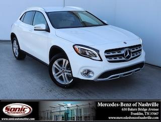 New 2019 Mercedes-Benz GLA 250 SUV for sale in Nashville, TN