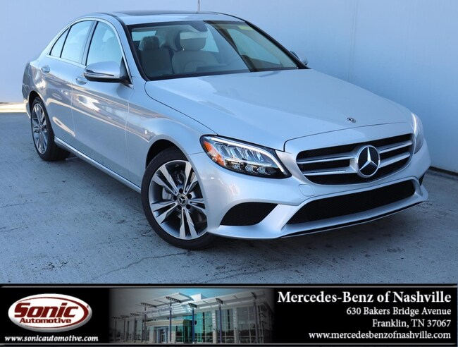 New 2019 Mercedes-Benz C-Class C 300  Sedan Sedan for sale in Franklin, TN