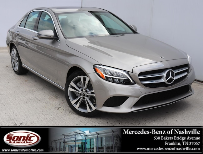 Certified Pre-Owned 2019 Mercedes-Benz C-Class C 300  Sedan Sedan for sale near Nashville, TN