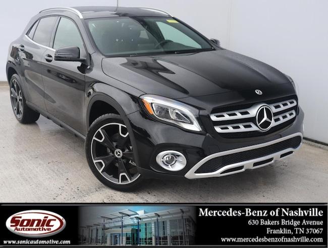 New 2019 Mercedes-Benz GLA 250 GLA 250 SUV for sale in Franklin, TN