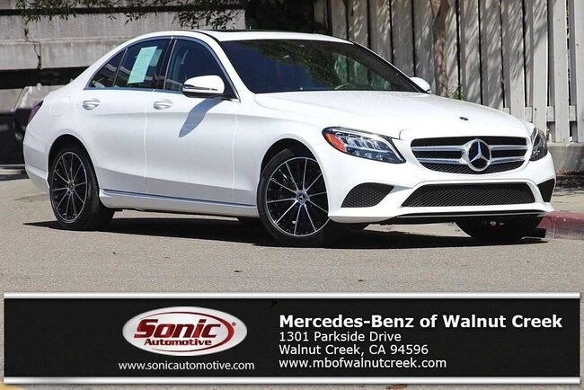 Certified Pre-Owned 2019 Mercedes-Benz C-Class C 300 Sedan for sale in Walnut Creek, near Oakland CA